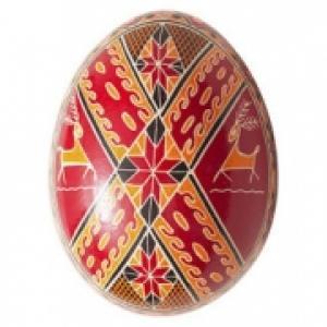 Oeuf de Pâques gravé