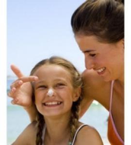 Choisir un crème solaire enfant