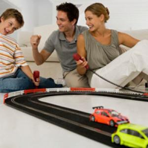 Circuit voitures