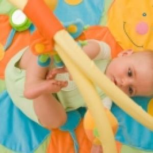 Tapis d'éveil et de jeu pour bébé