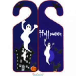 Accroche porte fantômes d'halloween