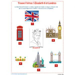Trouve l'intrus : Élisabeth II et Londres