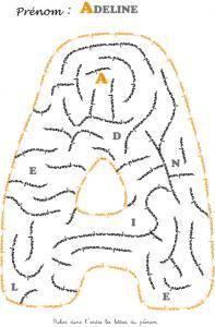 labyrinthe adeline