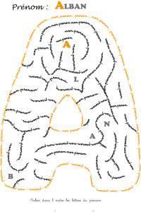 labyrinthe alban
