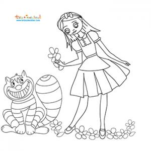 Alice et le chat ricanant