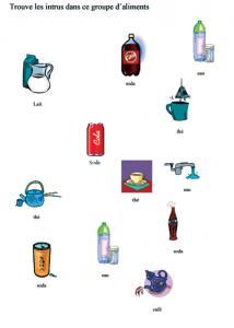 Activité sur l'eau et les boissons sans sucre