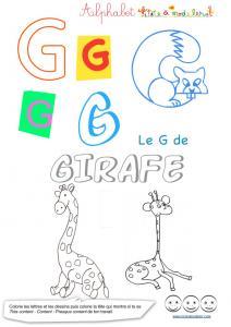 Lettres alphabet majuscules