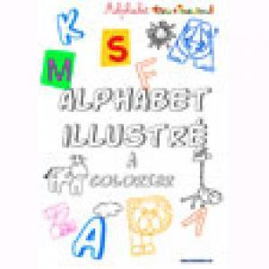 Alphabet : couverture des lettres majuscules à imprimer
