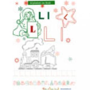 """Le """"L"""" de l'alphabet de Noël"""