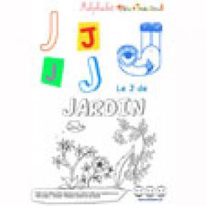 """Alphabet : lettre """"J"""" majuscule à imprimer"""