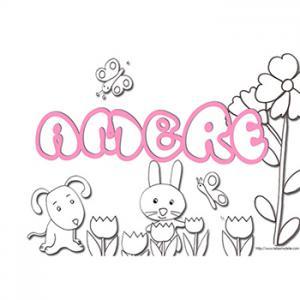 coloriage prénom Ambre