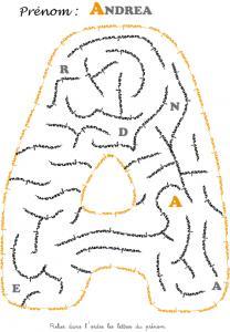 labyrinthe andrea