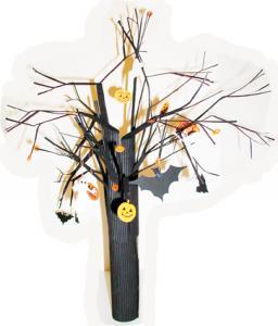 Fabriquer un arbre de Jack o lantern