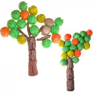 Créer des arbres d'automne en flocons de maïs