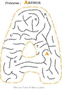 labyrinthe arthur