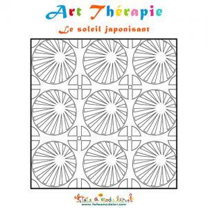 Soleil japonisant, Art thérapie