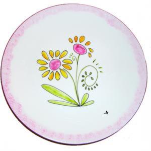 Assiettes aux fleurs de printemps
