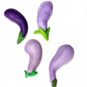 Aubergine, modelage d'aubergine