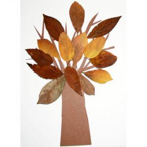 Fabriquer un arbre en feuilles d'Automne