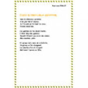 Imprimer Automne d'Ondine Valmore