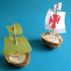 bateau coquille de noix