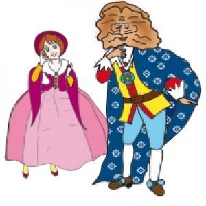 La Bête demande Belle en mariage