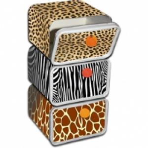 Rangement jungle en boîtes de farine Francine