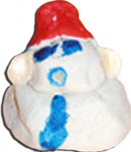Bonhomme en pâte à sel