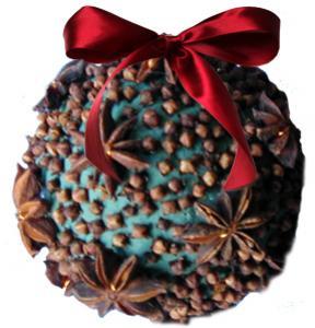 Boules d'épices odorante pour Noël