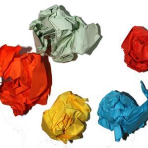 Fabriquer des boules en papier