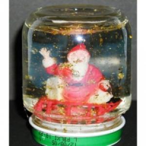 Créer une boule de neige du Père Noël