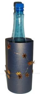 décoration de bouteille à étoile