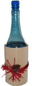 Cache-bouteille naturel