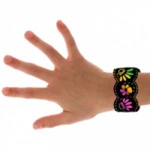 Bracelets en carte à gratter