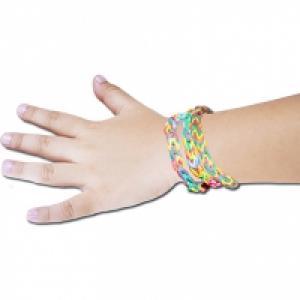 Bracelet loom ou bracelet en élastiques