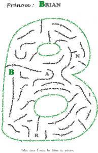 labyrinthe brian