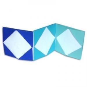 cadre photo origami
