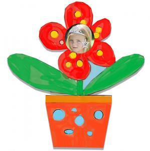 Pot de fleur cadre photo en carton
