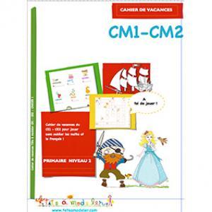 Cahier de vacances CM1 CM2