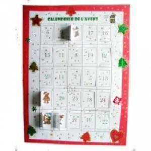 Le calendrier de Noël n'a pas toujours caché des jouets et des friandises. Les premiers Calendriers de Noël cachaient des vers...