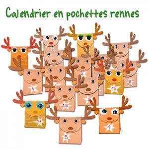 Calendrier rennes de Noël