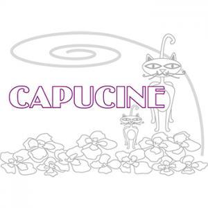 coloriage Capucine