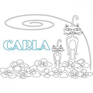 coloriage Carla