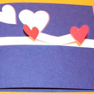 Carte 3D Saint Valentin