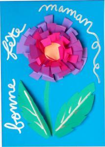 carte grosse fleur