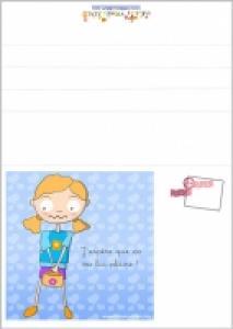 Carte de fête des mères de Laura a imprimer