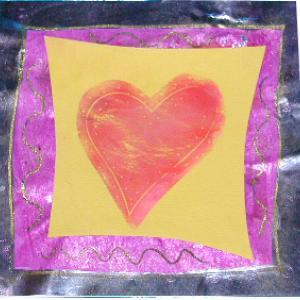 Carte coeur à offrir