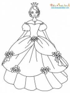 Cendrillon en robe de bal