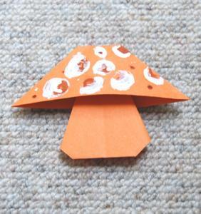 champignon origami