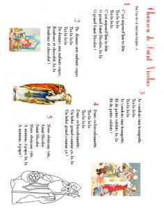 Chanson de saint nicolas traditionnelle